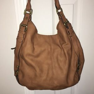 Merona Taupe Bag